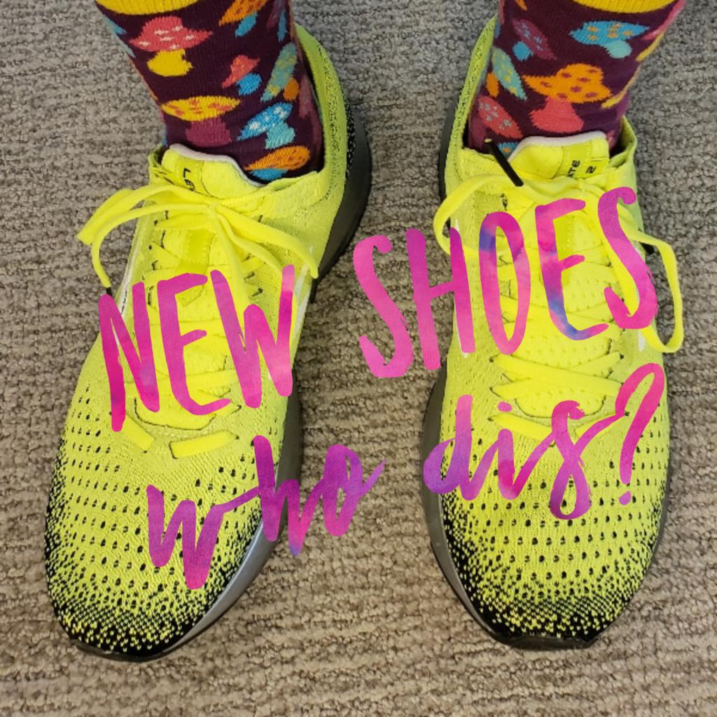 New Shoes, who dis?